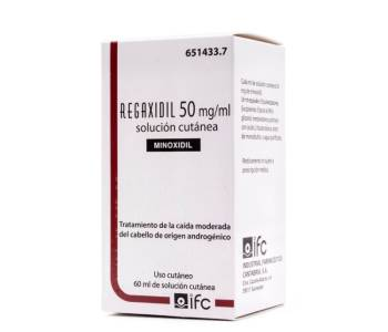 Regaxidil 50 mg/ml.