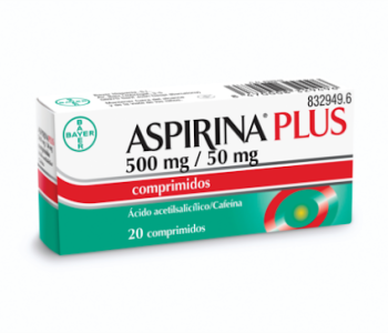 Aspirina plus (500/50 mg)