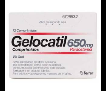 Gelocatil (650 mg)
