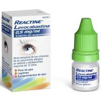 Reactine levocabastina 0.05%