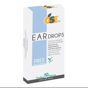 GSE Ear Drops Free 10 pipetas x 0.3ml
