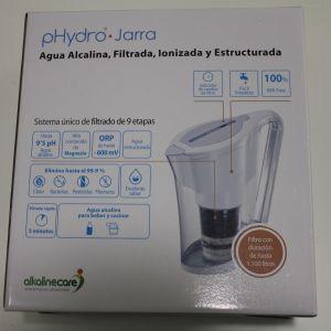 Alkaline Care Jarra pHydro agua alcalina ionizada
