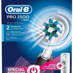 Oral B Profesional 2500 CROSS ACTION con funda de regalo