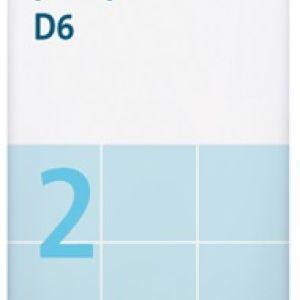Sal de Schüssler Nº 2 Calcium phosphoricum 80 comprimidos DHU