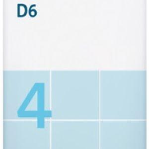 Sal de Schüssler Nº 4 Kalium chloratum 80 comprimidos DHU