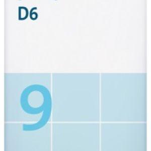 Sal de Schüssler Nº 9 Natrium phosphoricum 80 comprimidos DHU