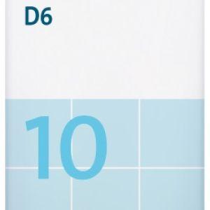 Sal de Schüssler Nº 10 Natrium sulfuricum 80 comprimidos DHU