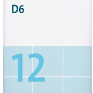 Sal de Schüssler Nº 12 Calcium sulfuricum 80 comprimidos DHU