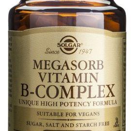 Solgar Megasorb Vitamin B-complex 50 tabletas