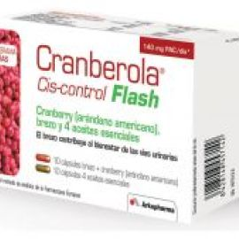 Cranberola cis-control flash 20 cápsulas