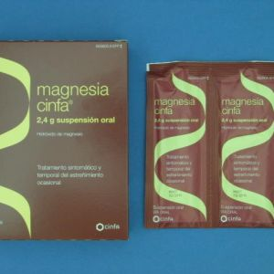 Magnesia cinfa (2.4 g 14 sobres suspension oral 12 ml)