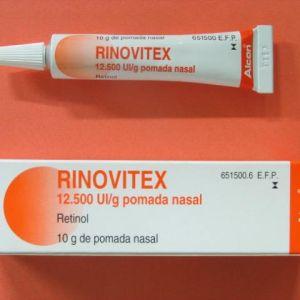 Rinovitex (12500 ui/g pomada nasal 10 g)