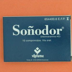 Soñodor (50 mg 10 comprimidos)
