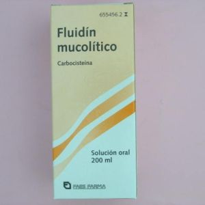 Fluidin mucolitico (250 mg/5 ml solucion oral 200 ml)