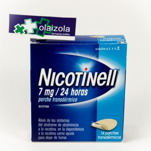 Nicotinell (7 mg/24 h 14 parches transdermicos 17.5 mg)