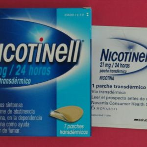 Nicotinell (21 mg/24 h 7 parches transdermicos 52.5 mg)