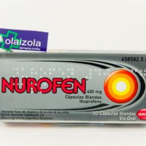 Nurofen (400 mg 10 capsulas blandas)