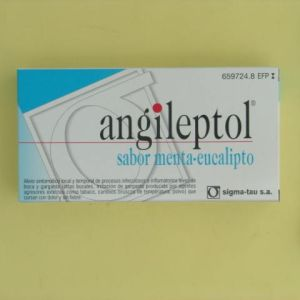Angileptol (30 comprimidos para chupar menta-eucalipto)