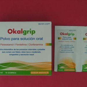 Okalgrip (10 sobres polvo)