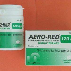 Aero red (120 mg 40 comprimidos masticables menta)
