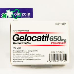 Gelocatil (650 mg 12 comprimidos (tiras))