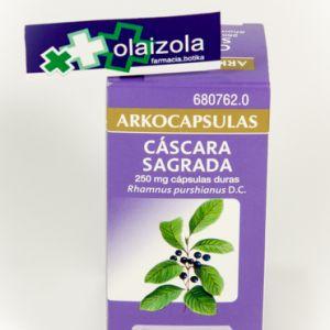Arkocapsulas cascara sagrada (250 mg 50 capsulas)