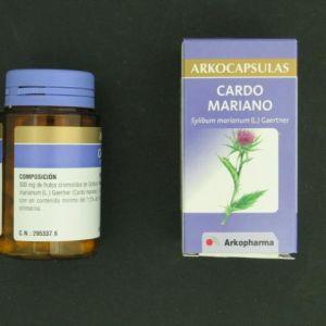 Arkocápsulas cardo mariano (300 mg 50 cápsulas)