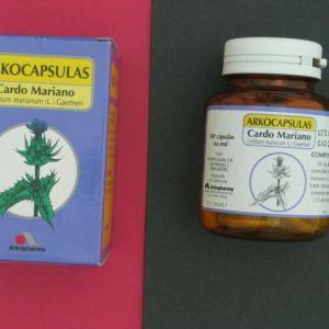 Arkocápsulas cardo mariano (300 mg 100 cápsulas)