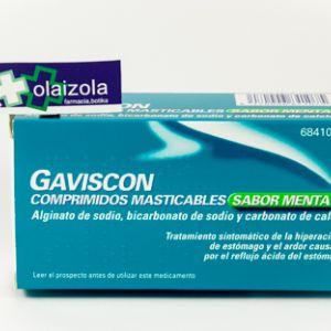 Gaviscon (32 comprimidos masticables menta)