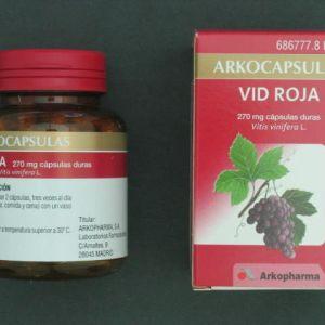 Arkocápsulas vid roja (270 mg 100 cápsulas)