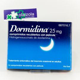 Dormidina (25 mg 14 comprimidos)