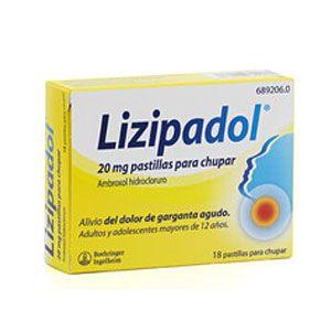 Lizipadol (20 mg 20 comprimidos para chupar)