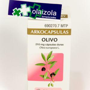Arkocapsulas olivo (210 mg 50 capsulas)
