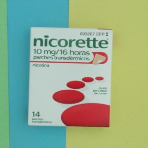 Nicorette (10 mg/16 h 14 parches transdermicos 16.6 mg)