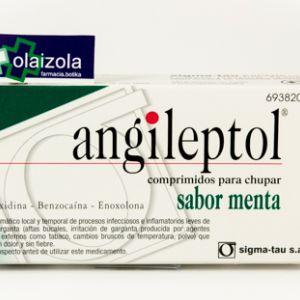 Angileptol (30 comprimidos para chupar menta)
