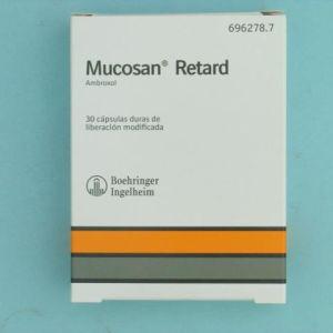Mucosan retard (75 mg 30 capsulas liberacion prolongada)