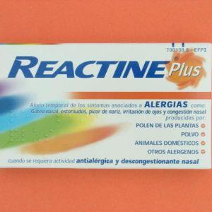 Reactine cetirizina/pseudoefedrina (5/120 mg 14 comprimidos liberacion prolongada)