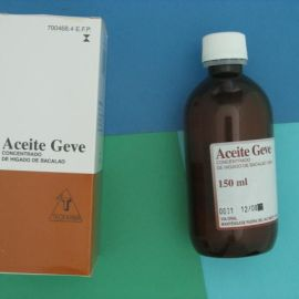 Aceite geve (solucion oral 150 ml)
