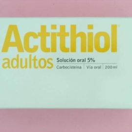 Actithiol adultos (250 mg/5 ml solucion oral 200 ml)