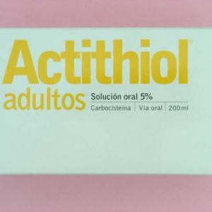 Actithiol adultos (250 mg/5 ml solucion oral 200 ml)