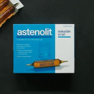 Astenolit (12 ampollas bebibles 10 ml)