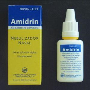 Amidrin (0.1% nebulizador nasal 10 ml)