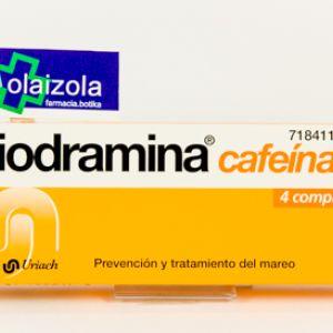 Biodramina cafeina (4 comprimidos)
