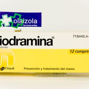 Biodramina (50 mg 12 comprimidos)