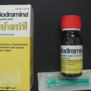 Biodramina infantil (20 mg/5 ml solucion oral 60 ml)