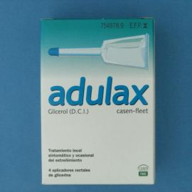 Adulax casen fleet (6.14 ml solucion rectal 4 enemas 7.5 ml)