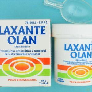 Laxante olan (0.5% polvo oral efervescente 100 g)