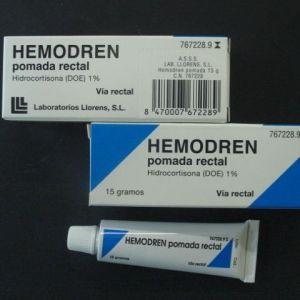 Hemodren rectal (1% pomada rectal 15 g)