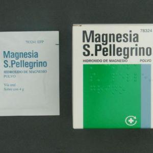 Magnesia san pellegrino (3.6 g 20 sobres)