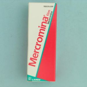 Mercromina film lainco (2% solucion topica 10 ml)